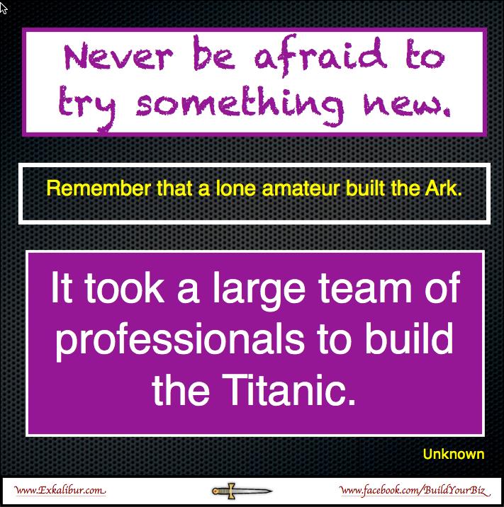 Building the Ark & the Titanic